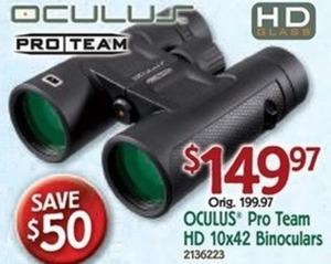 Oculus Pro Team HD Binoculars
