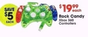 Rock Candy Xbox 360 Controllers