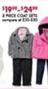 Kids' 3-Piece Coat Sets