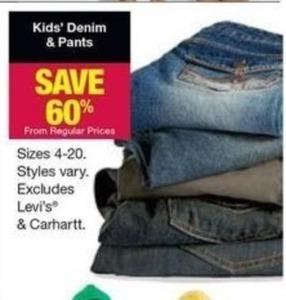Kids' Denim & Pants