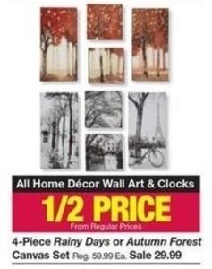 All Home Decor Wall Art & Clocks