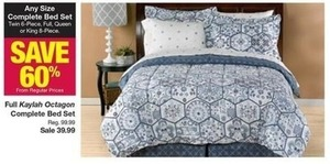Any Complete Bed Set