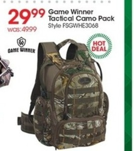 Game Winner Tactical Camo Pack