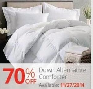 Down Alternative Comforter (starts 11/27)