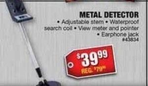 Ironton Metal Detector