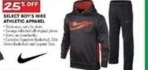 Select Boy's Nike Athletic Apparel