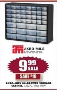 Akro-Mills 44-Drawer Storage Cabinet