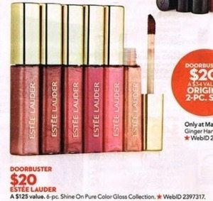 6 Piece Shine On Pure Color Gloss Collection