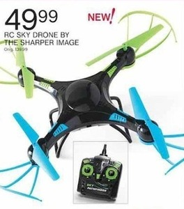 The Sharper Image RC Sky Drone