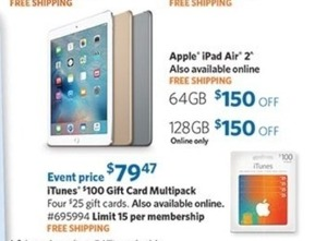 Apple iPad Air 2 128GB