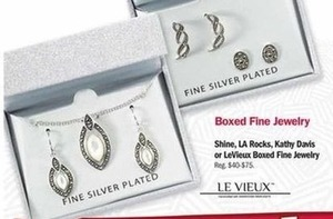 Shine, LA Rocks, Kathy Davis or LeVieux Boxed Fine Jewlery