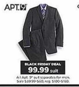 Apt 9 Men's Suit Seperates