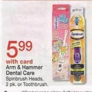 Arm & Hammer Dental Care w/ Card
