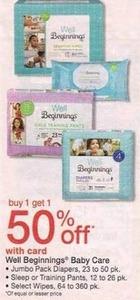Well Beginnings Baby Care w/ Card