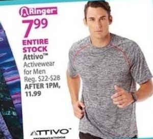 Men's Attivo Activewear