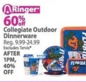 Collegiate Outdoor Dinnerware
