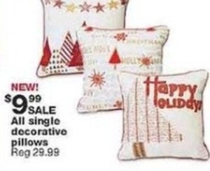 All Single Decorative Pillows