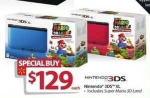 Nintendo 3DS XL w/ Super Mario 3D Land