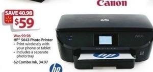 HP 5643 Photo Printer