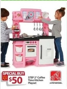 Step 2 Coffee Time Kitchen Playset
