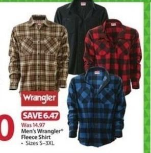 Men's Wrangler Fleece Shirt