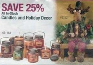 In-Stock Candles and Holiday Decor