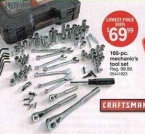 165pc Mechanics Tool Set