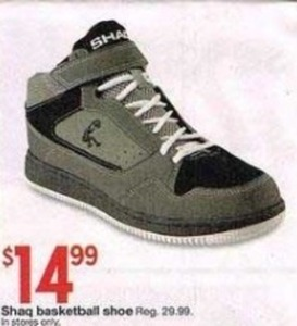 Shaq Basketball Shoe