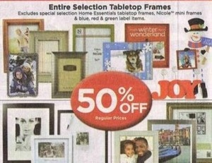 Entire Stock of Tabletop Frames