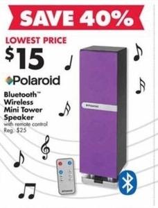 Polaroid Bluetooth Wireless Mini Tower Speaker
