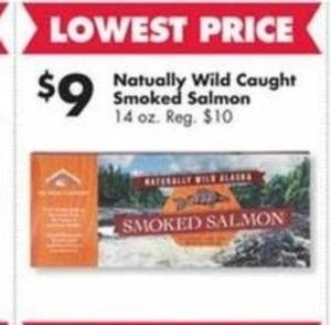 Naturally Wild Caught Smoked Salmon