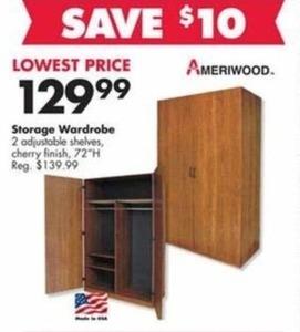 Ameriwood Storage Wardrobe