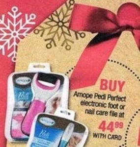 Amope Pedi Perfect Electronic Foot or Nail Care File