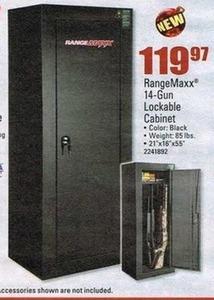 Range Maxx 14 Gun Lockable Cabinet