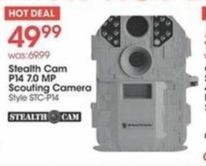 Stealth Cam P14 7.0 MP Scouting Camera