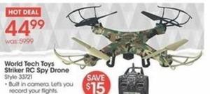 World Tech Toys Striker RC Spy Drone