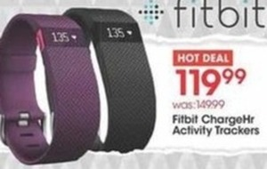 Fitbit ChargeHr Activity Trackers