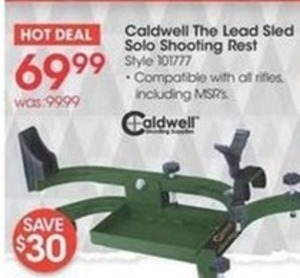 Caldwell The Lead Sled Solo Shooting Rest