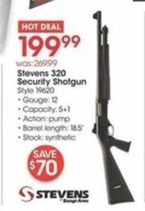 Stevens 320 Security Shotgun