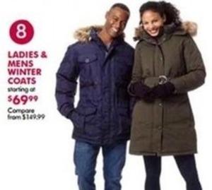 Ladies and Men's Winter Coats