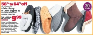Select Ladies Slippers