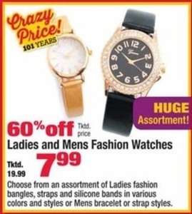 Men's and Women's Fashion Watches