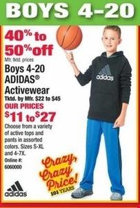 Boy's Adidas Activewear