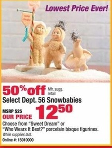 Select Dept. 56 Snowbabies