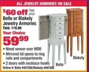 Belle Jewelry Armories