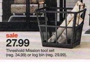 Threshold Mission Log Bin