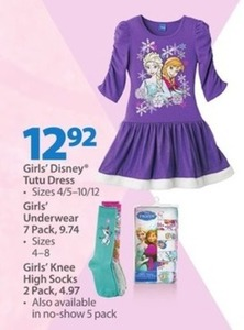 Girls' Disney Tutu Dress