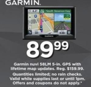 Garmin Nuvi 58LM GPS