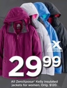 Women's ZeroXposur Kelly Insulated Jackets