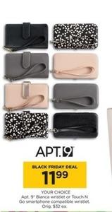 Apt. 9 Bianca Wristlet or Touch N Go Smartphone Wristlet